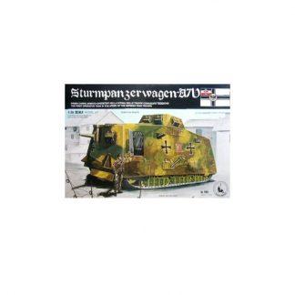 Sturmpanzerwagen A7V - German Army WWI
