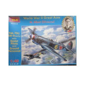 Yak-7DI Great Aces - M. Albert