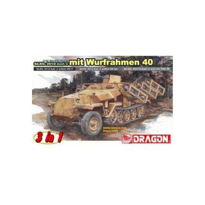 Sd.Kfz. 251/2 Ausf. C mit Wurfrahmen 40 (3 in 1)