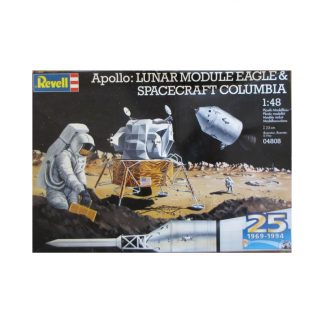 Apollo: Lunar Module Eagle & Spacecraft Columbia