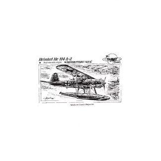 Heinkel He 114 A 2  9-Cylinder Radial Engine-German Project WW II