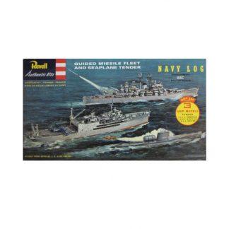 Guided Missile Fleet & Seaplane Tender (U.S.S Nautilus, Currituck, Boston)