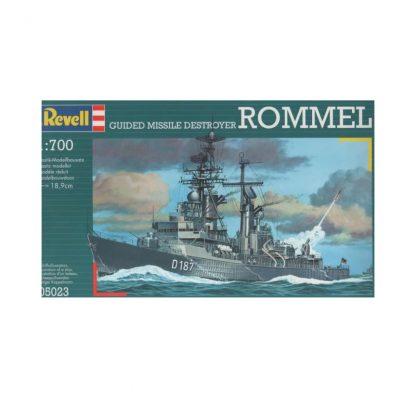 Guided Missile Destroyer Rommel
