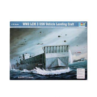 WW2 LCM USN Vehicle Landing Craft