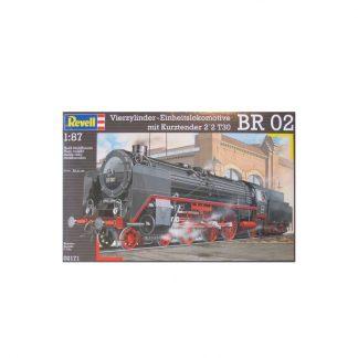 Vierzylinder-Einhietslokomotive BR 02 mit Kurztender 2'2 T30