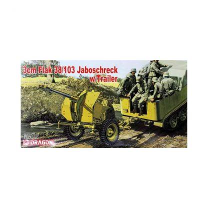 3cm Flak 38/103 Jaboschreck - w/Trailer