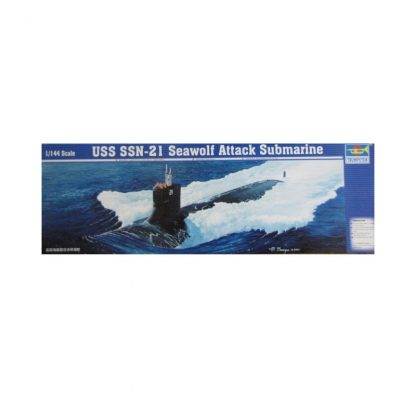 USS SSN-21 Seawolf Attack Submarine
