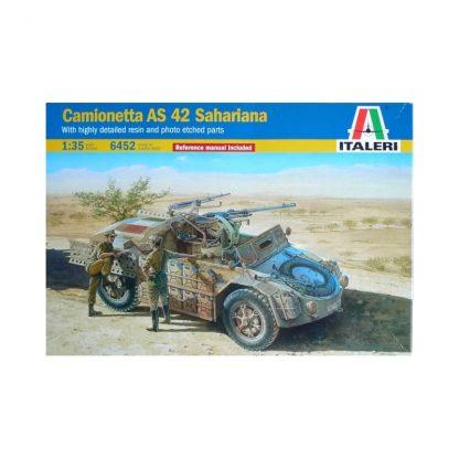 Camionetta AS 42 Sahariana