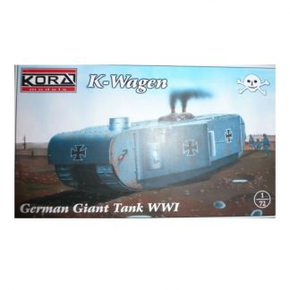K-Wagen - German Giant Tank WWI